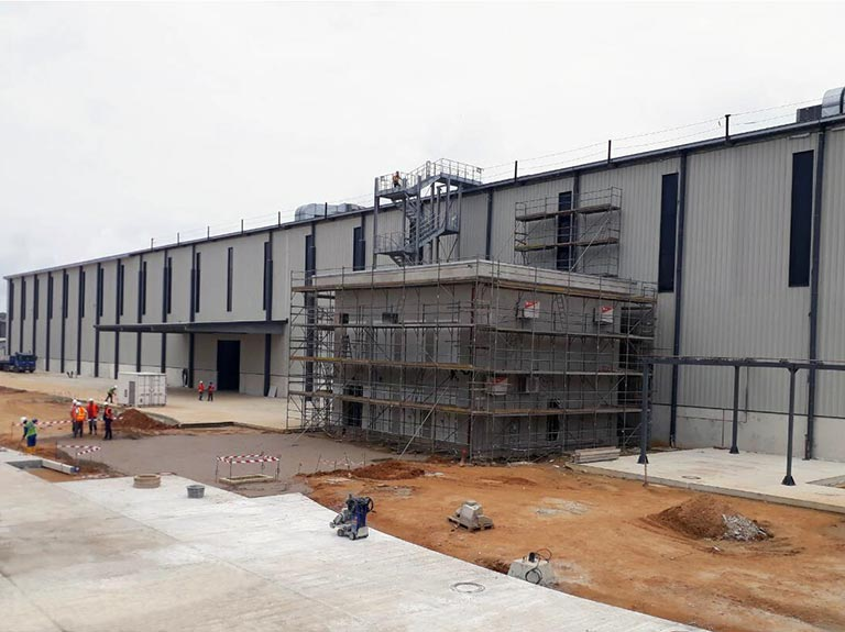 CONSTRUCTION OF MULTI-MODAL FACILITY, GE CALABAR - EMERALD