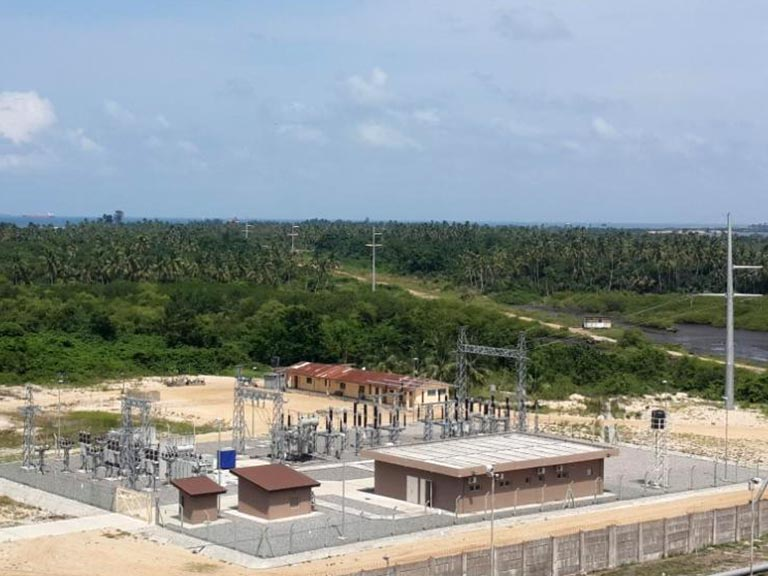 "CONSTRUCTION OF 132kV SC TRANSMISSION LINE AND 132/33/3.3kV SUBSTATION at ""Tarkwa"" Island – Lagos for Atlas Cove Oil Depot"