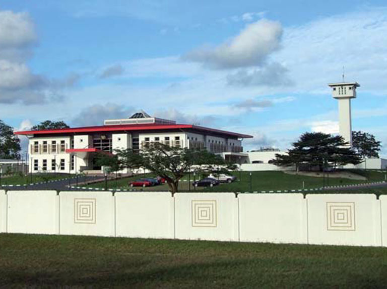 UYO'S GOVERNMENT COMPLEX / PHASE I – Governors Lodge, PHASE II – Guest house with Gate Houses and Banquet Hall, PHASE III – Government Offices